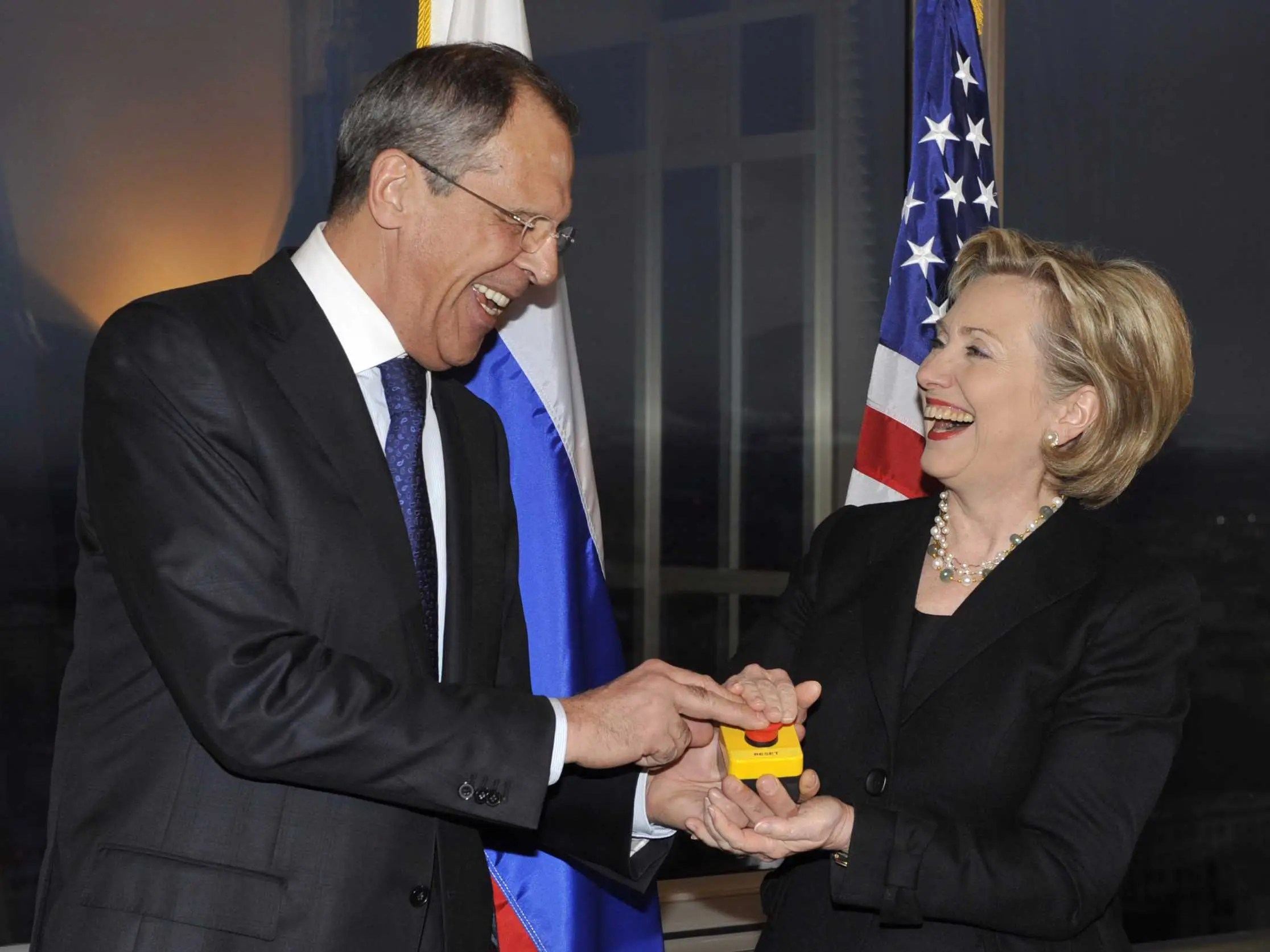 Image result for clinton lavrov