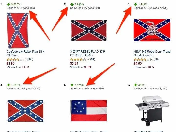 Confederate Flag Sales Are Skyrocketing Business Insider