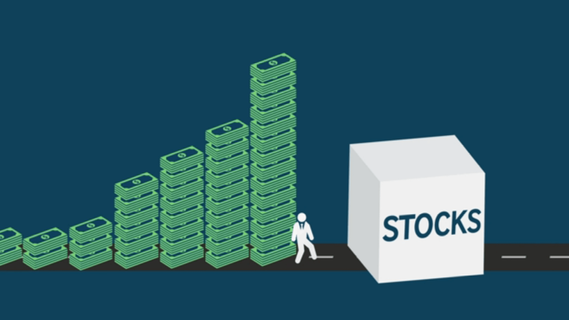 Because of the Fed, investors have nowhere to go except for riskier markets. Like stocks ...