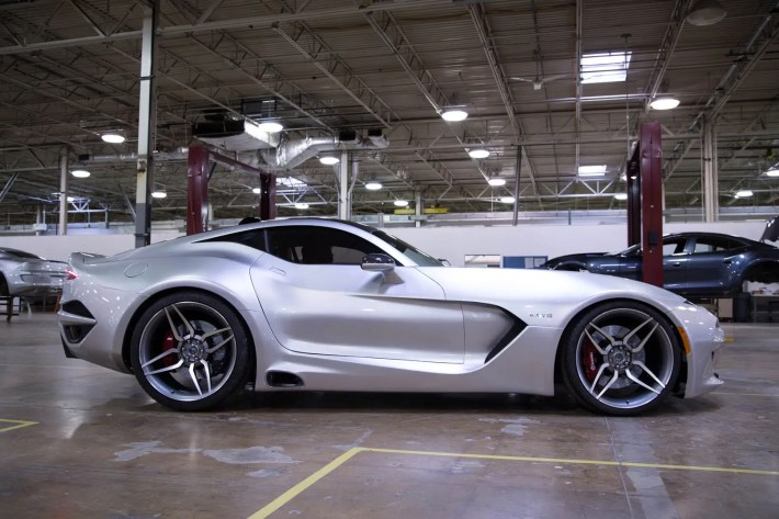 5. Famous car designer Henrik Fisker made a comeback with his new luxury car, the Force 1.