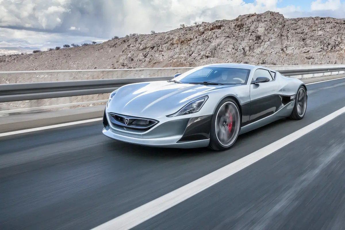 15. Lastly, Croatian automaker Rimac designed a stunning, all-electric concept car for the Geneva Motor Show.
