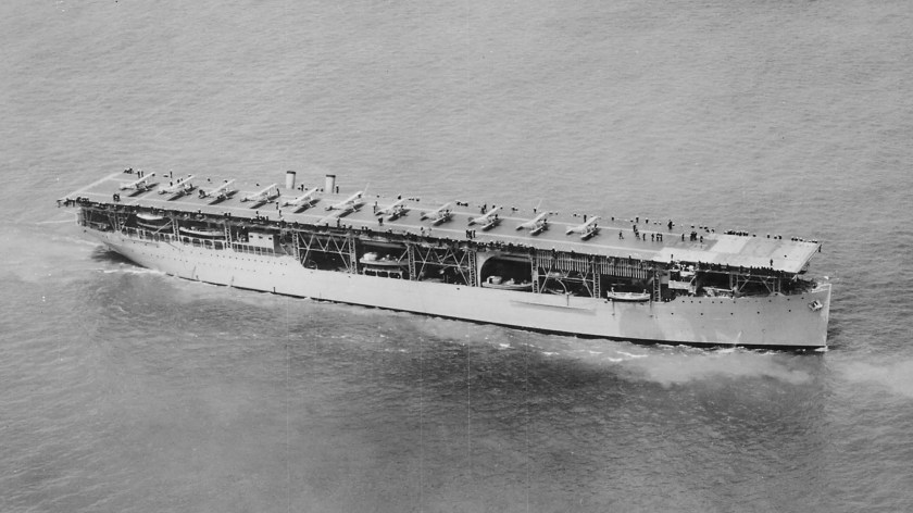 The US's first aircraft carrier was the USS Langley, which was converted from a collier to an aircraft carrier in 1920.