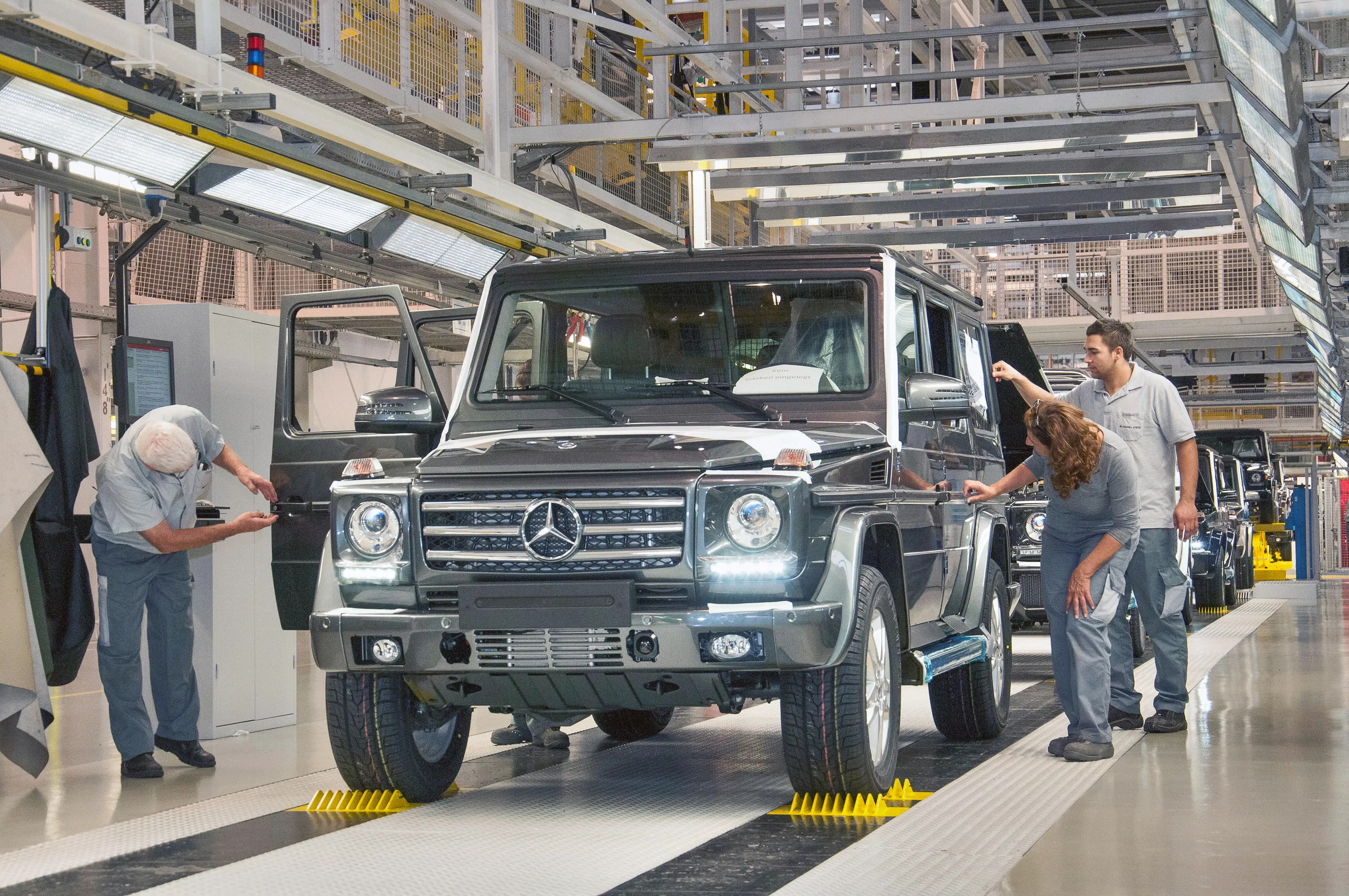 "Magna Steyr, Magna's ""contract manufacturing"" arm, currently assembles the Mercedes-Benz G-Class and the Mini Countryman."
