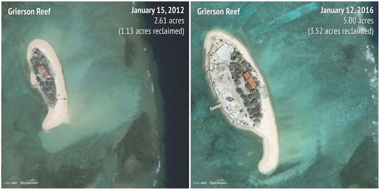Grierson Reef: 2012 - 2016