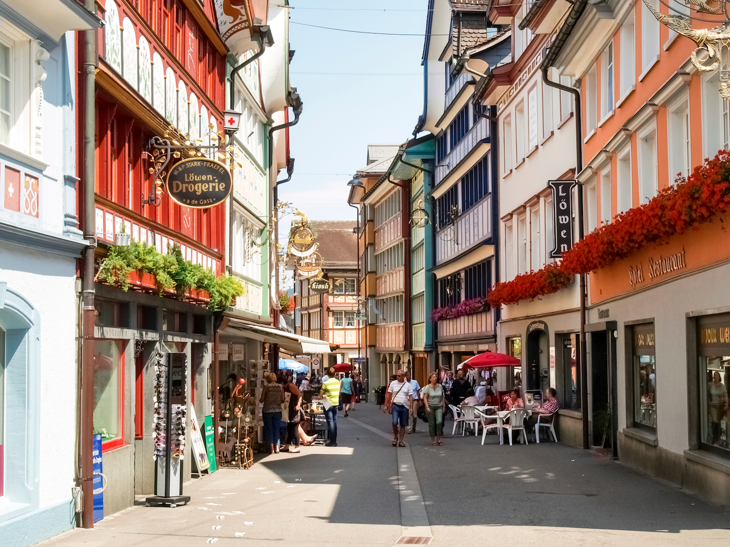 Taking a stroll through the Appenzell, a small village in northeastern Switzerland, is like taking a step back in time.