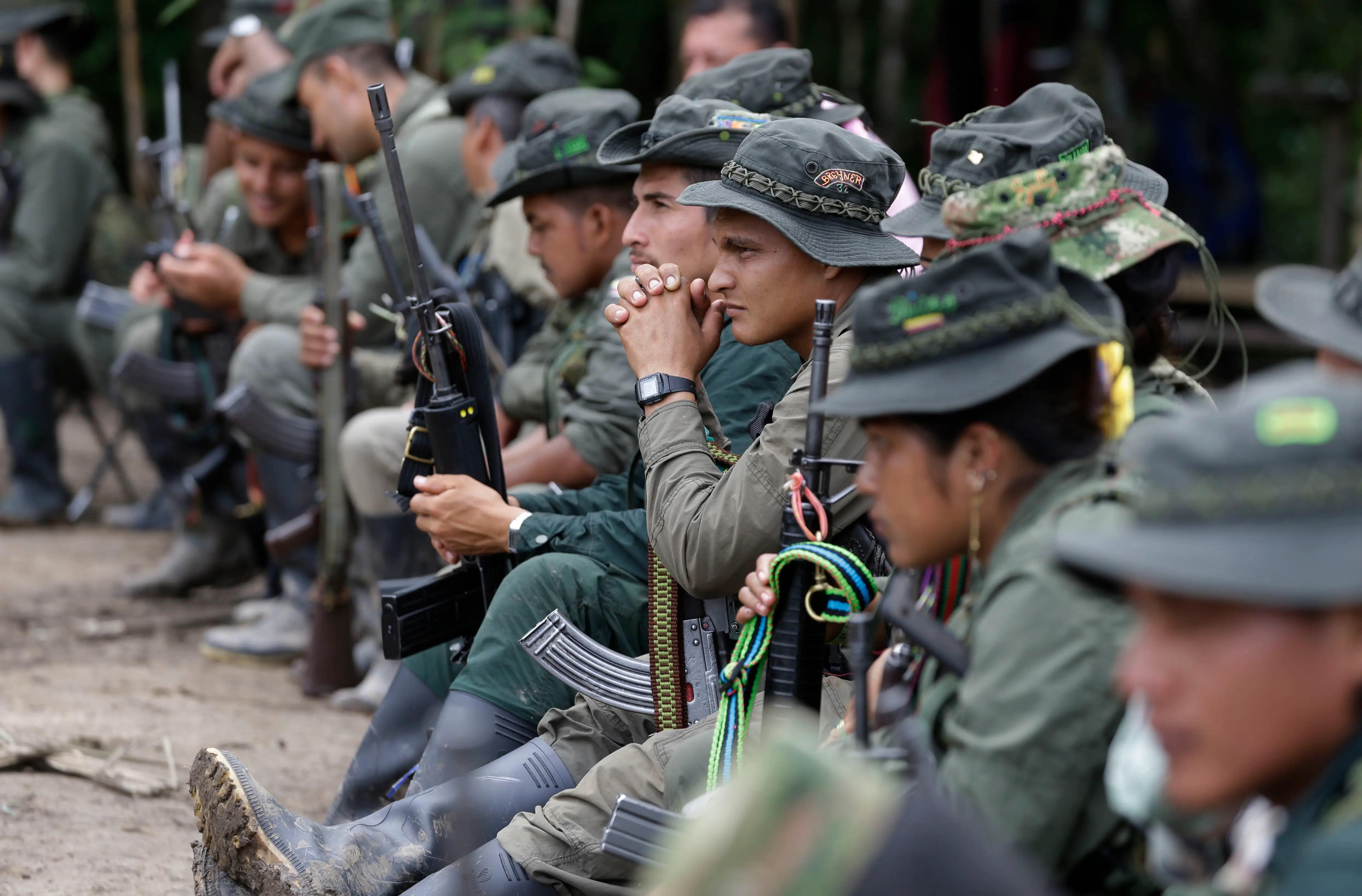 Colombia FARC peace deal rebels guerrillas
