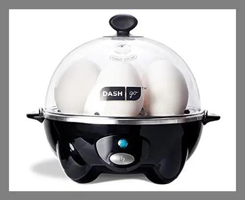 An egg cooker
