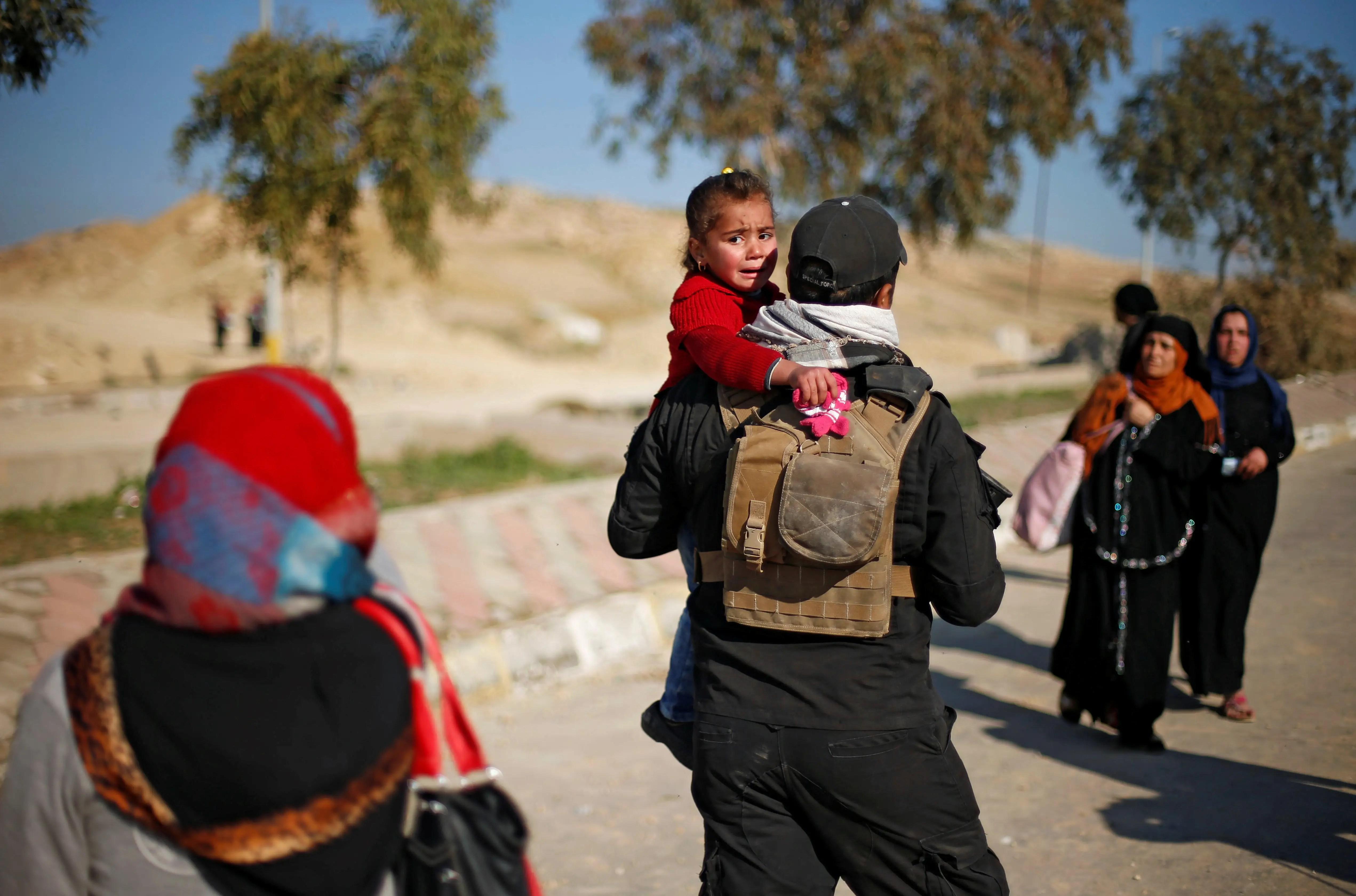 ISIS Iraq Mosul civil refugee