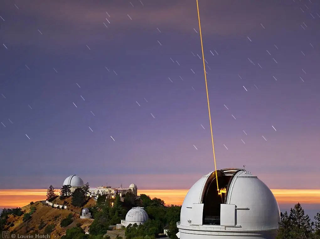 lick observatory automated planet finder copyright laurie hatch