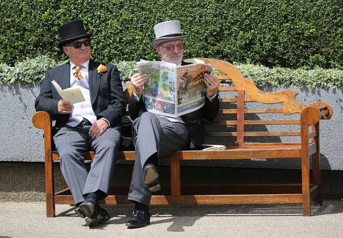 wealthy reading racegoers Prosperity gap benefiting wealthy, deepening inequality Prosperity gap benefiting wealthy, deepening inequality wealthy reading racegoers