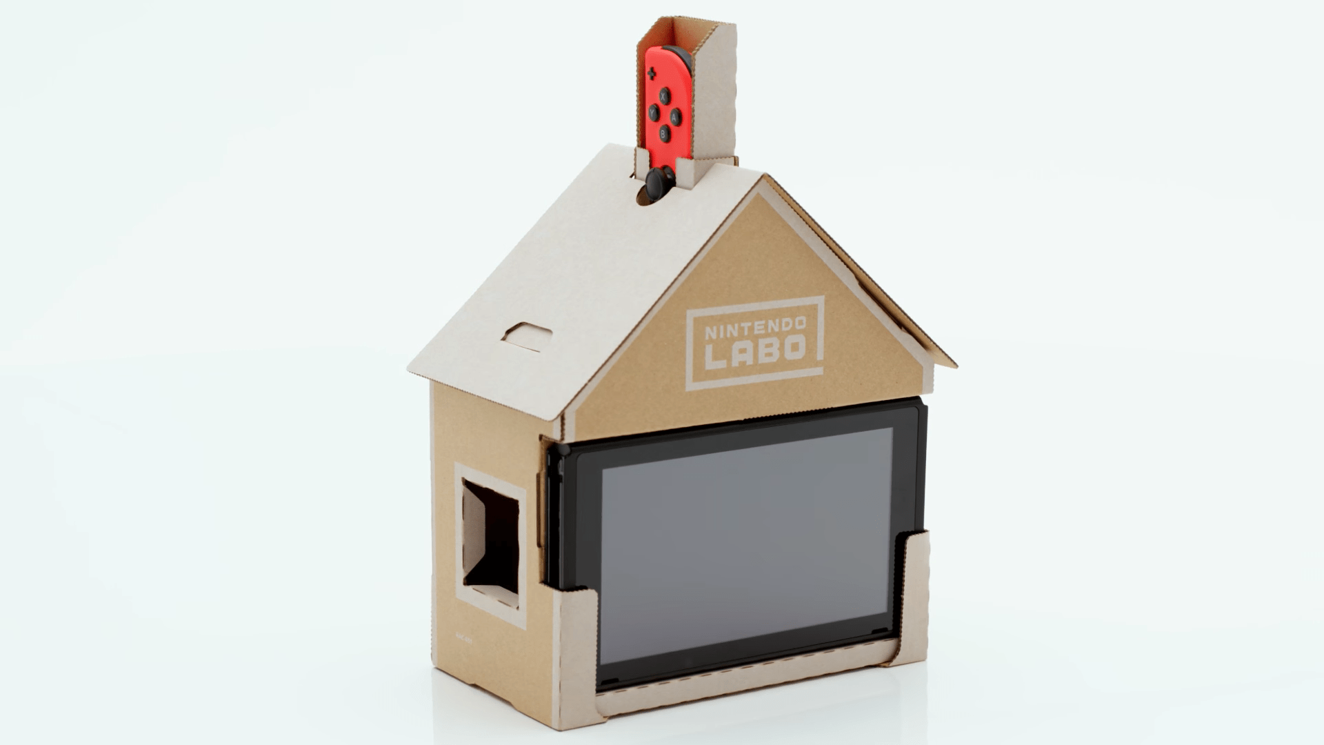 Nintendo showcased the breadth of its creations in the debut video for Labo — here, for instance, is a little house. What?
