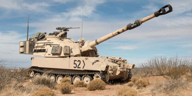 M109 Paladin howitzer
