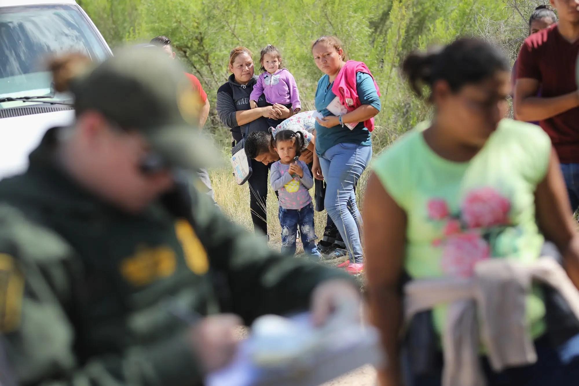 Children migrants US-Mexico Border