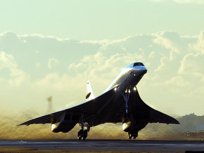 Concorde last take off