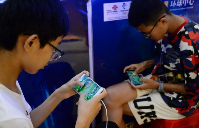 Tencent mobile video games