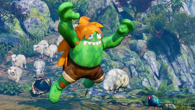Street Fighter V Blanka Chan