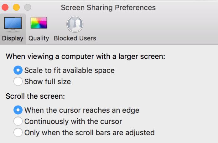How to screenshare on Mac