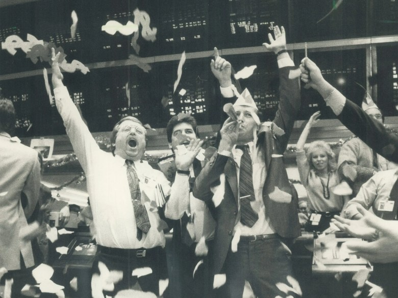 traders happy