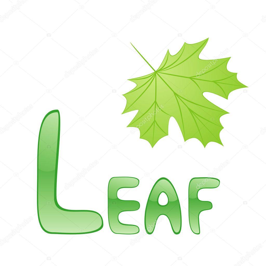 Worksheet Letter L For Leaf