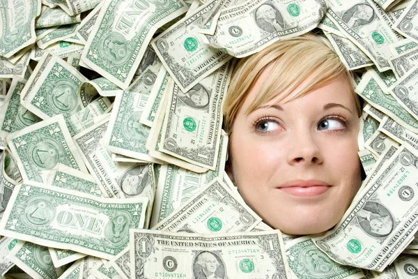 ᐈ Woman with money stock pictures, Royalty Free woman money images |  download on Depositphotos®