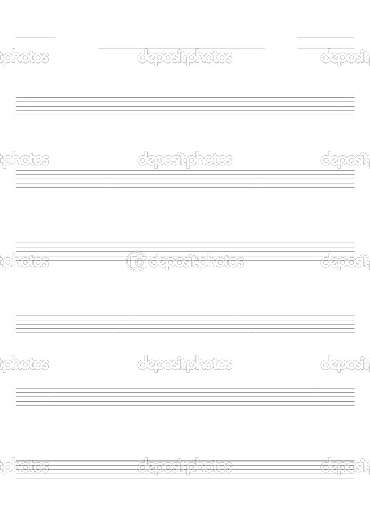 Bass Tab Template Blank Sheet Music Templates Folk Songs For