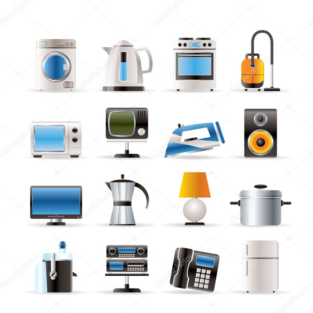 Icones De L Equipement De La Maison