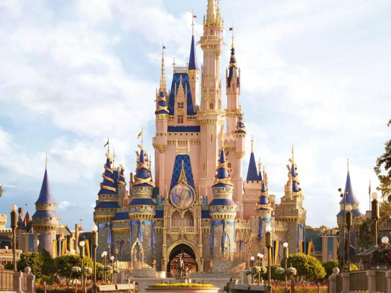 MK Castle 50th Decor Rendering