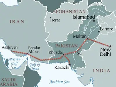Iran-Pakistan-India Pipeline