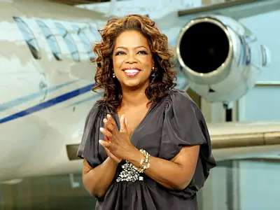 Born into poverty, Oprah Winfrey became the first African American TV correspondent in Nashville.