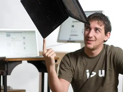 Andrew McCollum designed Facebook's first logo and worked on a side project with Zuckerberg, Wirehog.