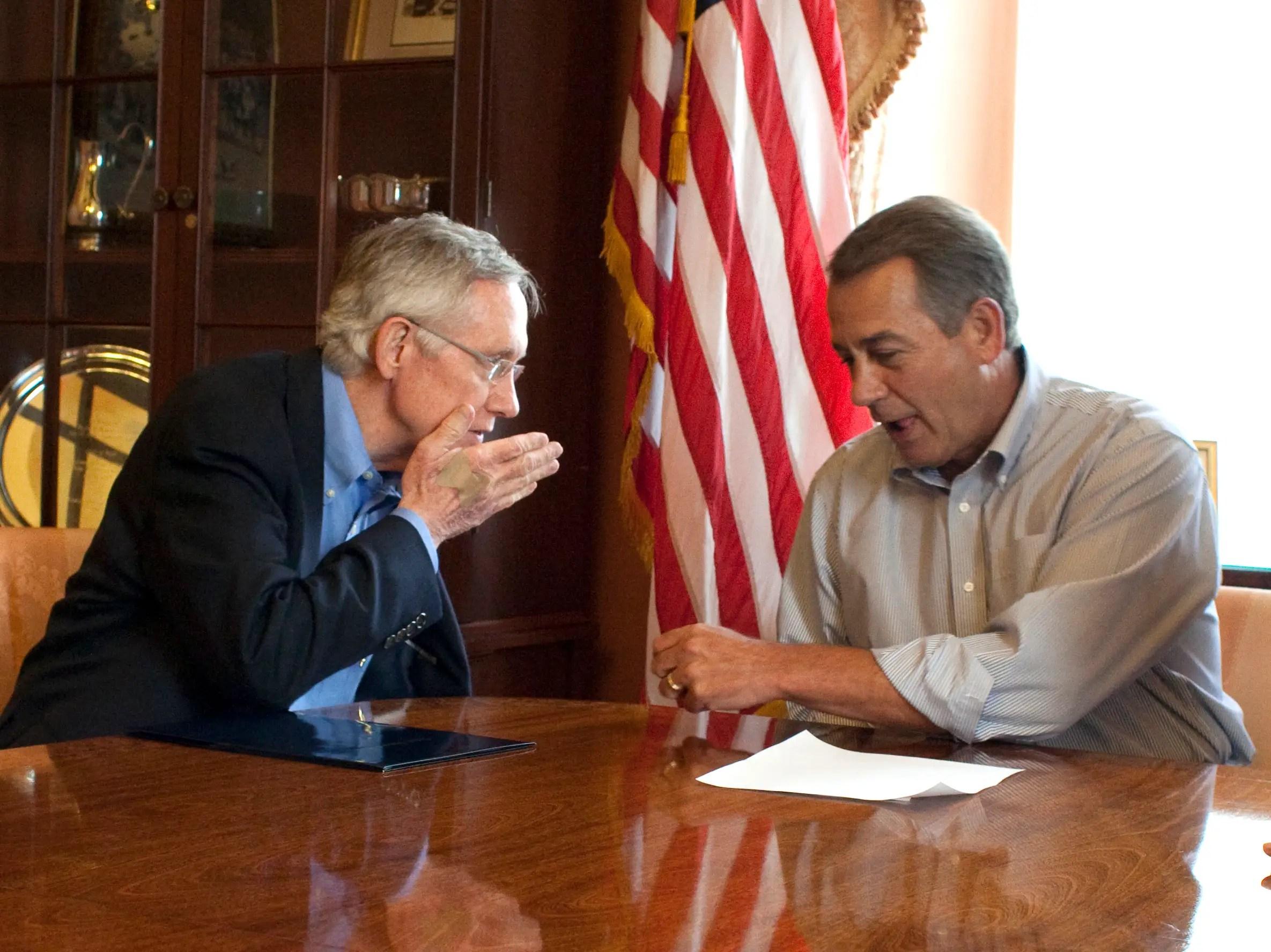 Reid, Boehner