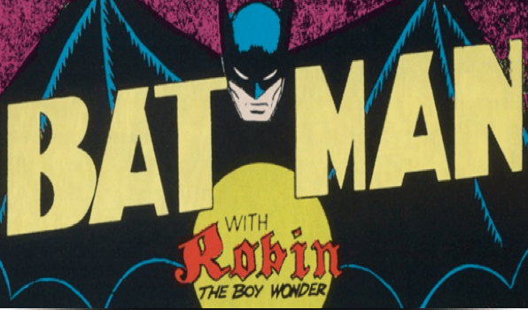 Batman with Robin, The Boy Wonder; Detective Comics