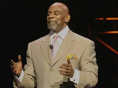 "Chris Gardner inspired the movie ""The Pursuit of Happyness"" and was homeless with a young son while he was in a finance training program."