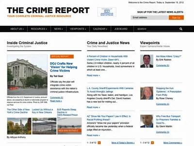 4) The Crime Report
