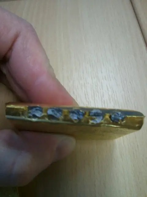 fake gold bar