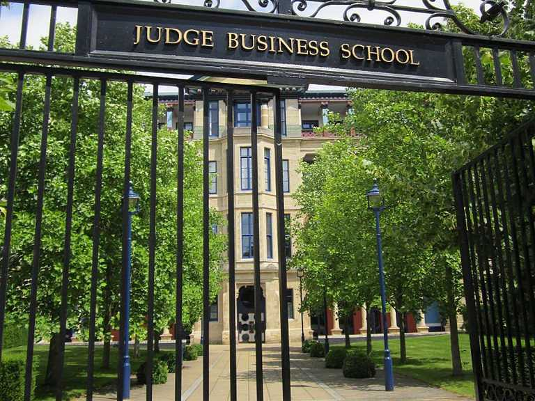 #8 Cambridge University (Judge)