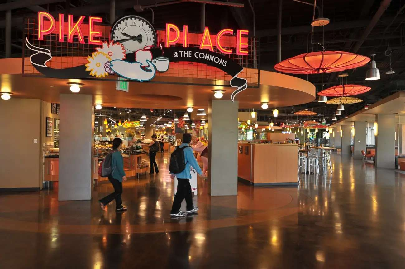 The people that do Pike Place have a mini-Pike Place in the Commons.
