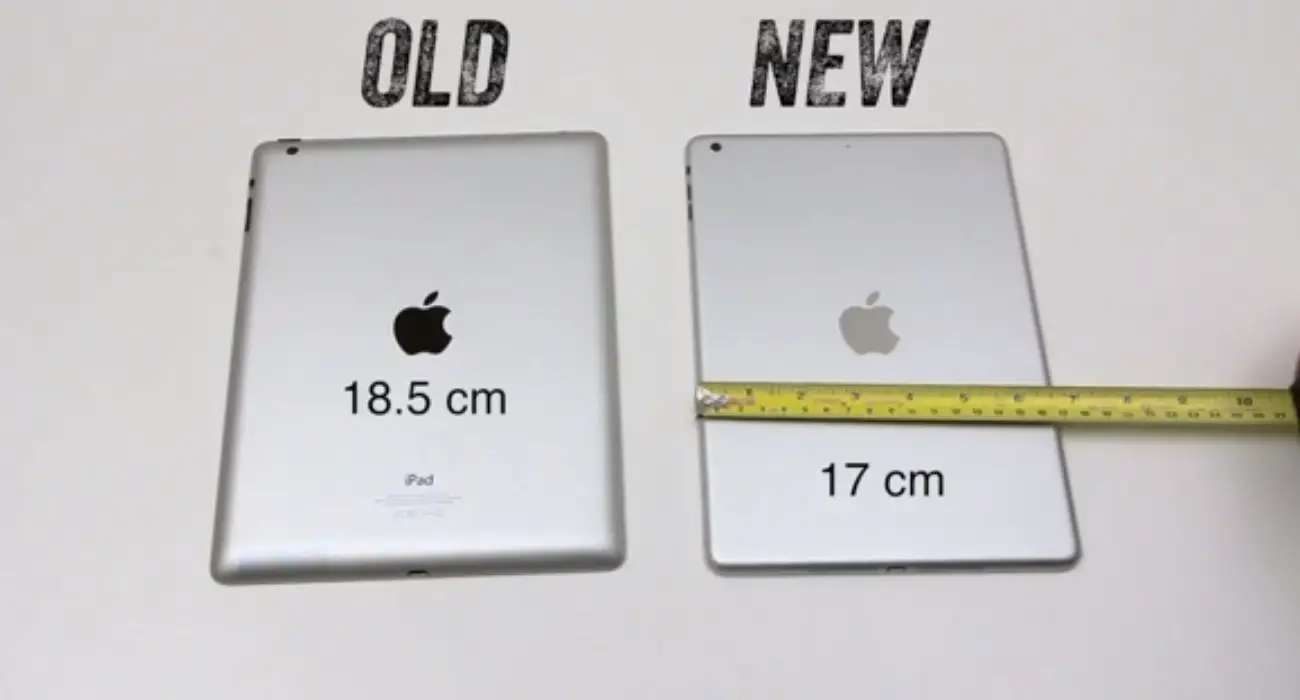 It's going to get a new shell that's more like the current iPad Mini. It will be thinner, lighter, and smaller than the current big iPad.