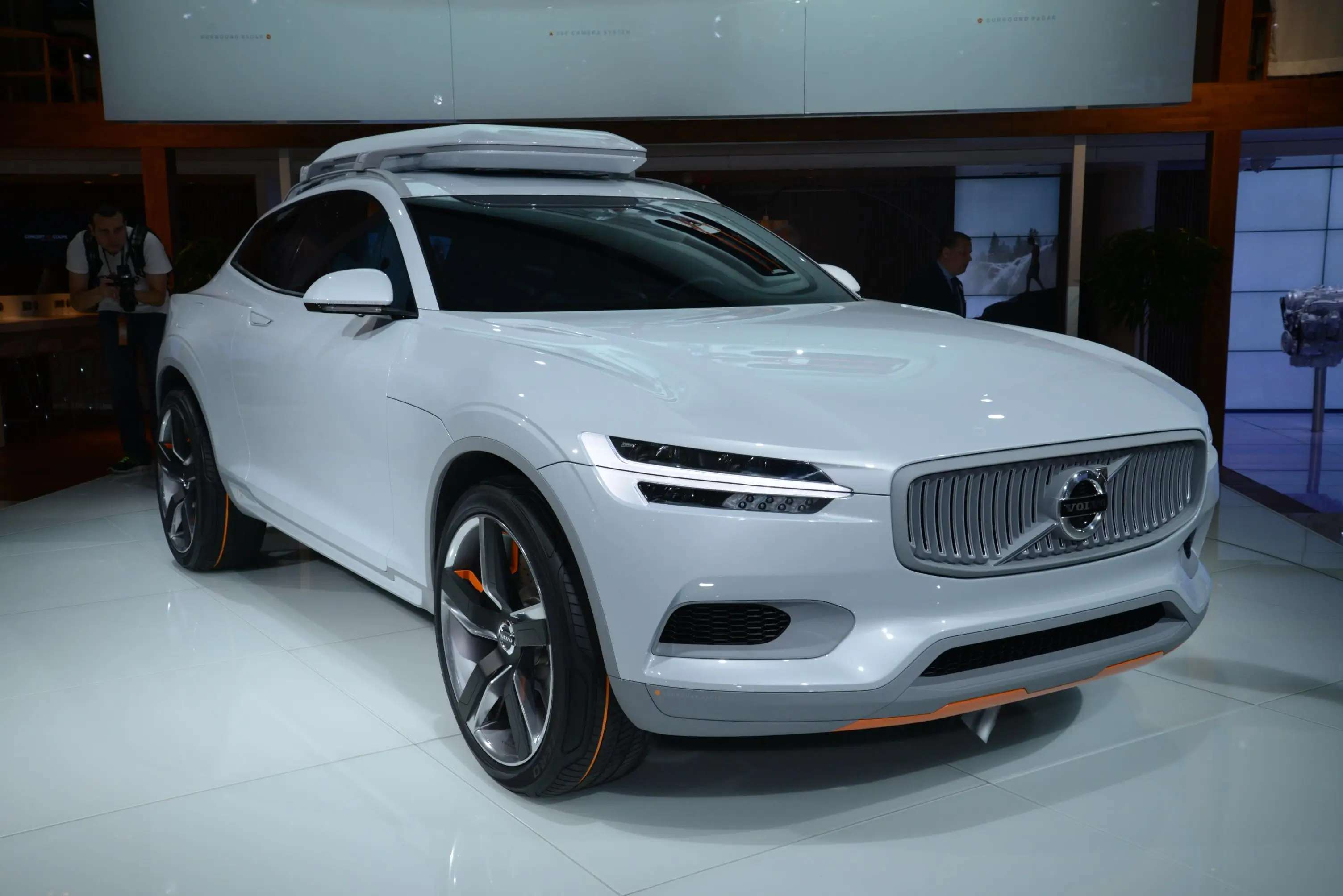 Volvo's Concept XC Coupé is a sleek ride that will let customers