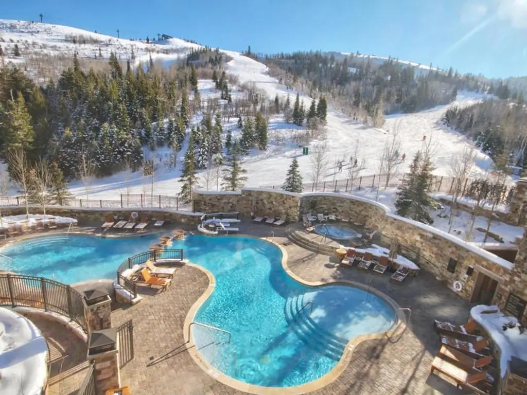 If you want to swim around, you can take advantage of the St. Regis Deer Valley pool.