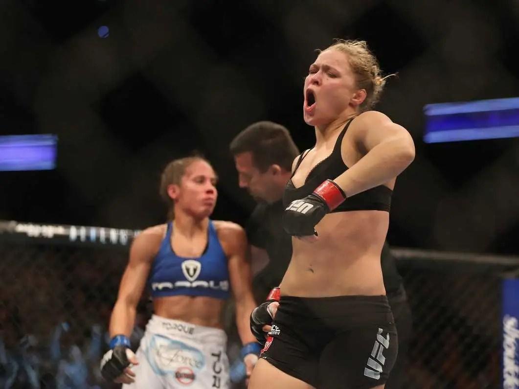 #6 Ronda Rousey