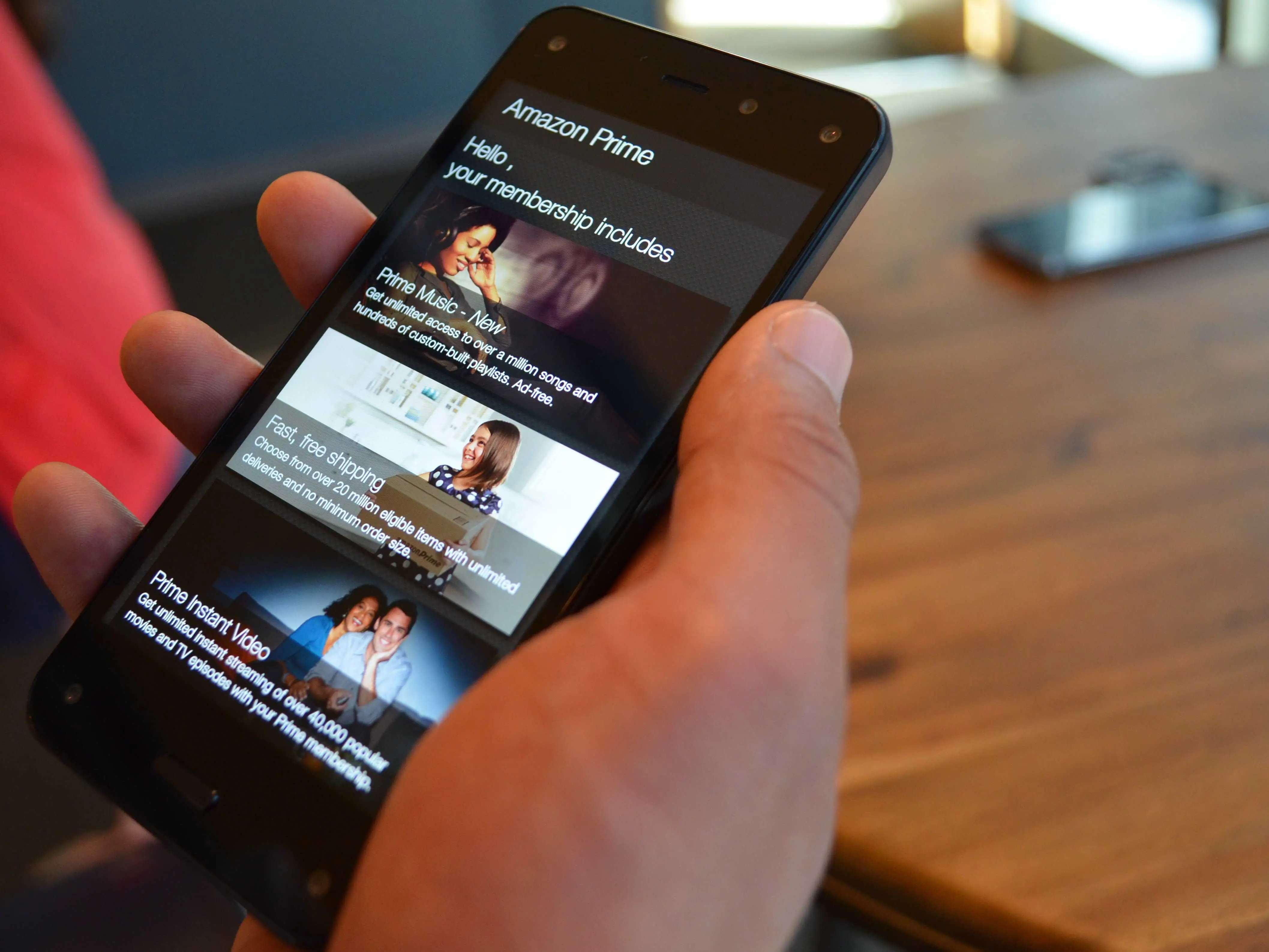 Amazon's Fire Phone launches this summer.