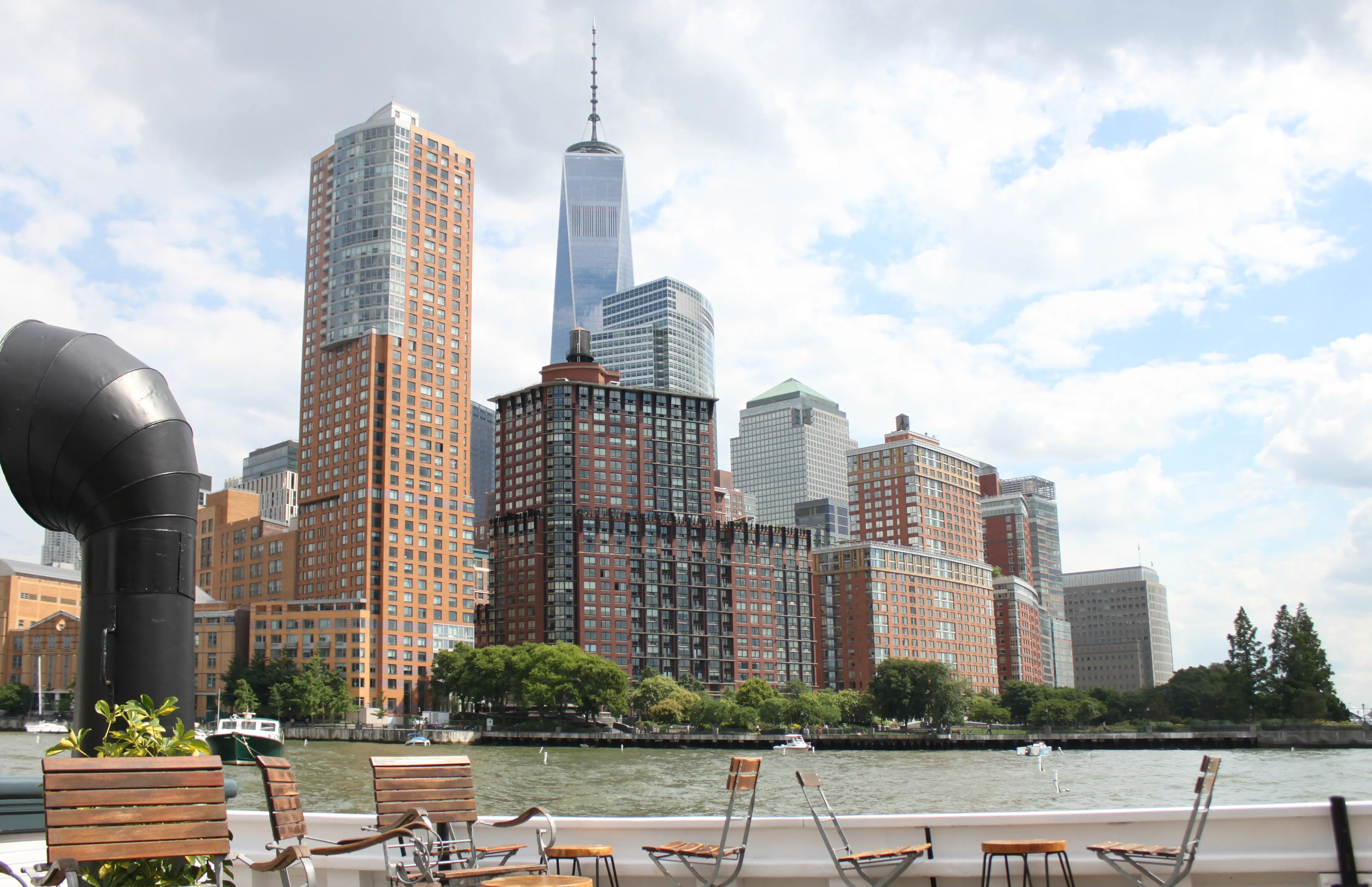 You'll also get a prime view of the Freedom Tower.