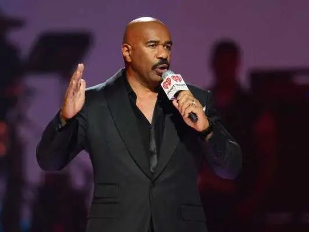 Talk show host Steve Harvey lived in his 1976 Ford Tempo for three years before his big break.
