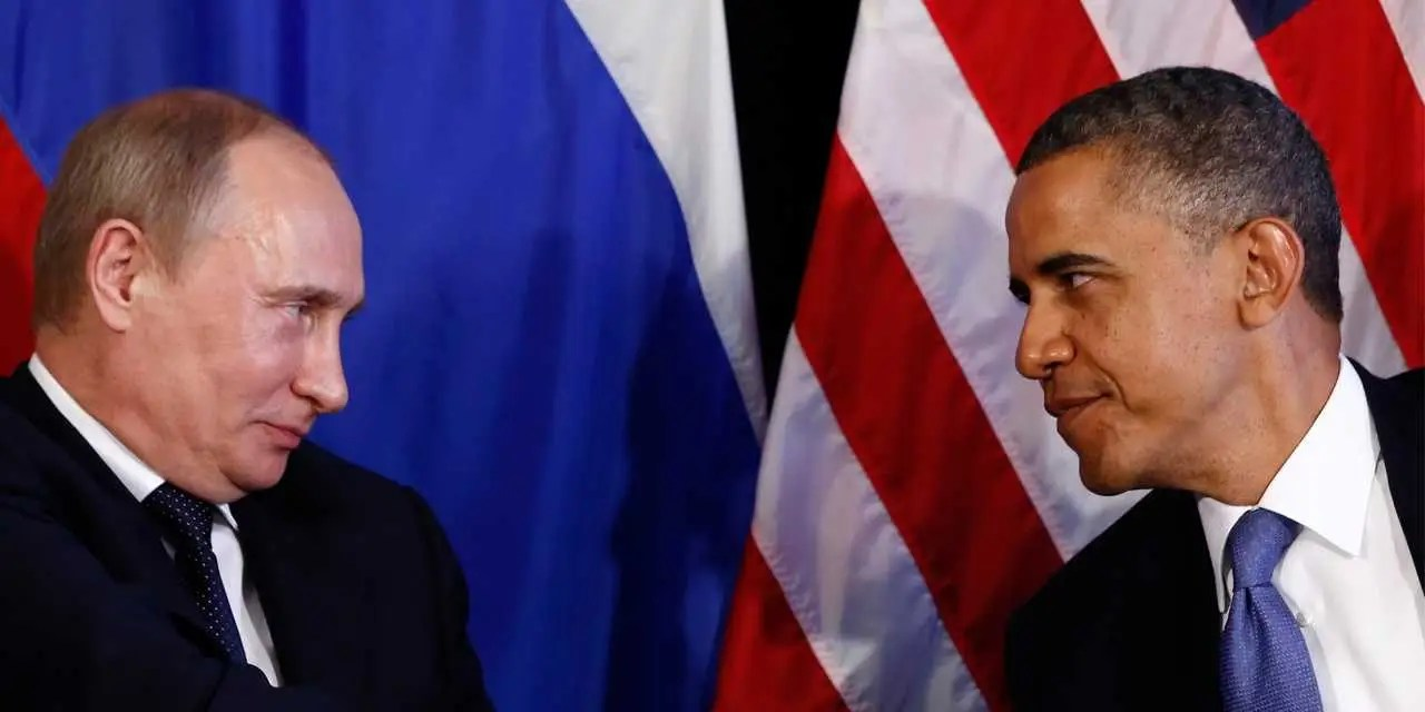 Image result for obama russia sanctions