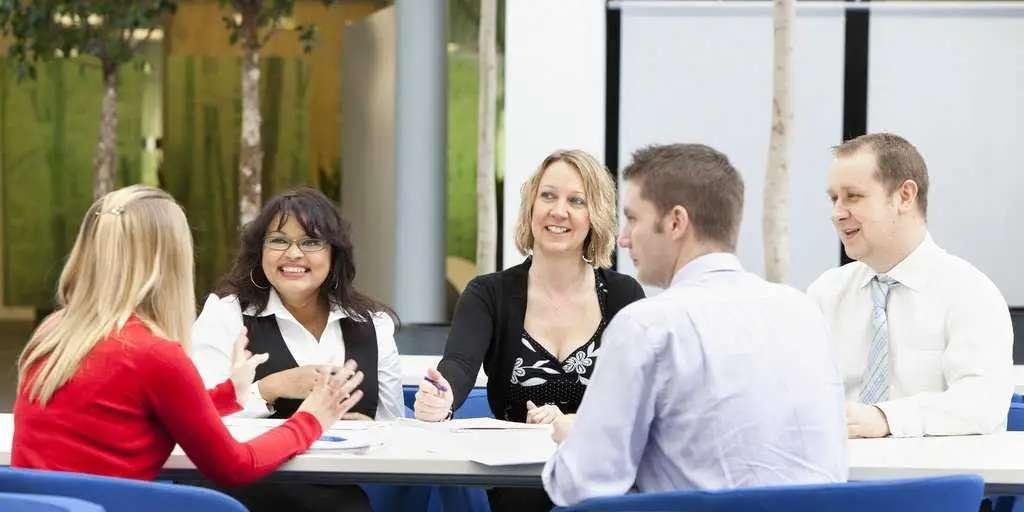 teamwork, employees, meeting