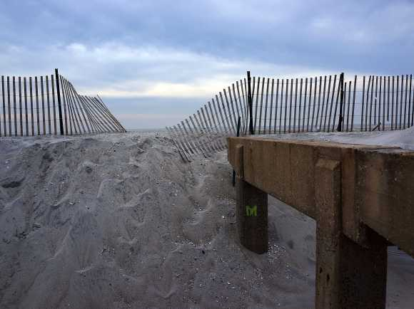 "Beaches will quite literally get washed away. In New York City, ""long-term coastal erosion is 100% probable"" for Coney Island, Brooklyn, the Rockaways, Queens, and South Shore, Staten Island, according to a city report."