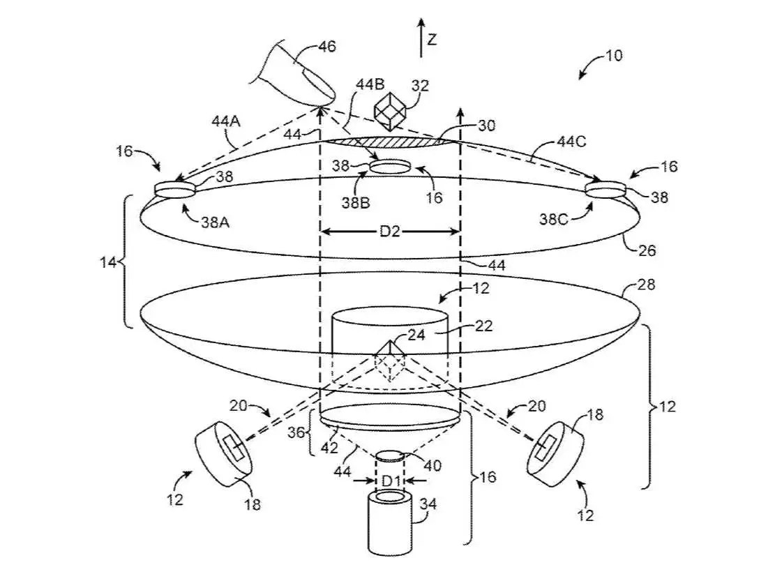 Apple Patent For Interactive Holograms