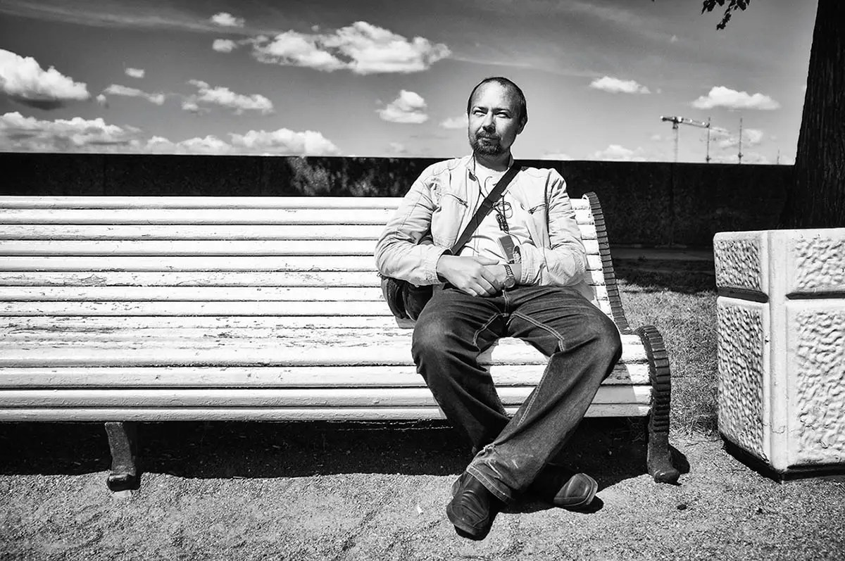 """Igor, age 38. Profession: Photographer. Passion or Dream: """"Tourism and cycling. I would like to go to South America."""""""