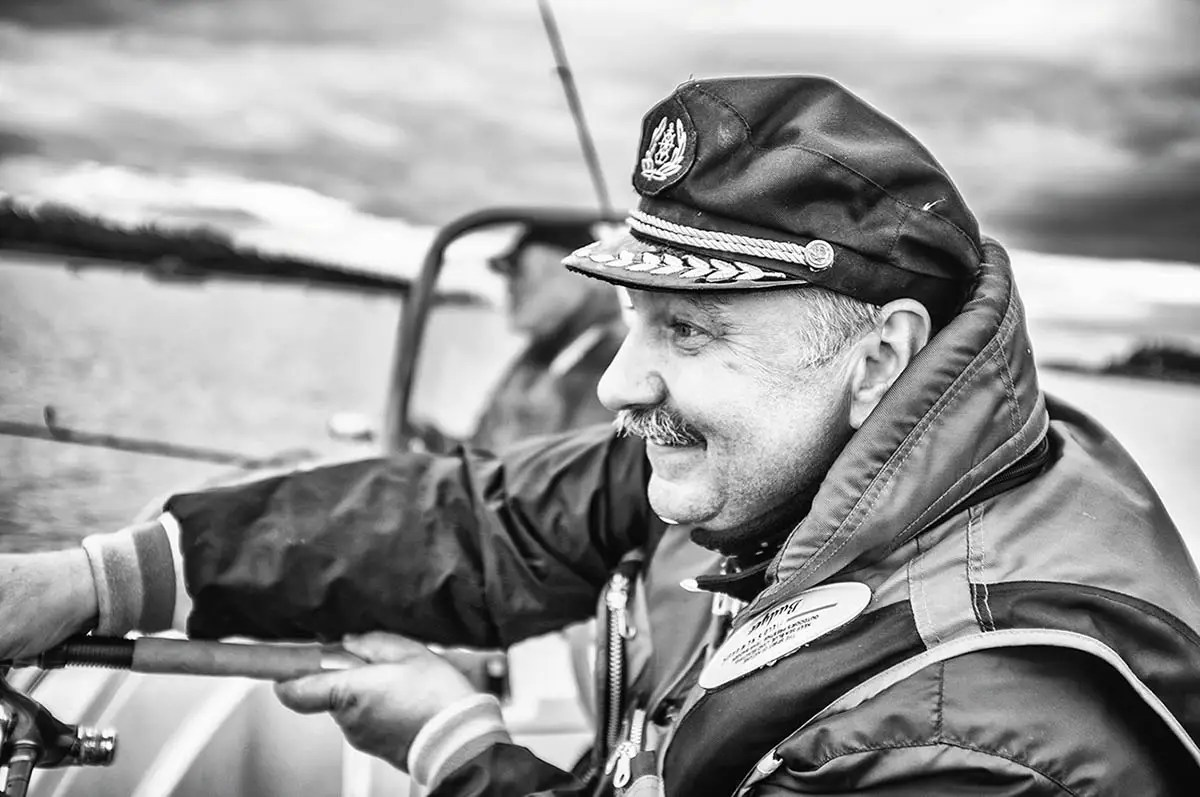 """Sergey, age 57. Profession: Construction engineer. Passion or Dream: """"I love music and fishing."""""""